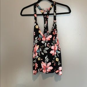 Forever 21 plus size floral tank